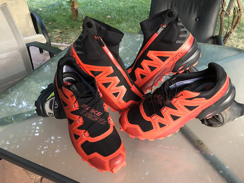 Salomon Spikecross 5 GTX и Salomon Snowspike CSWP