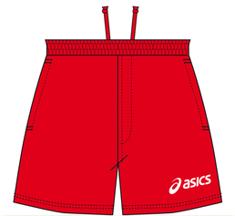 Asics t209zj 0026 beach volley short