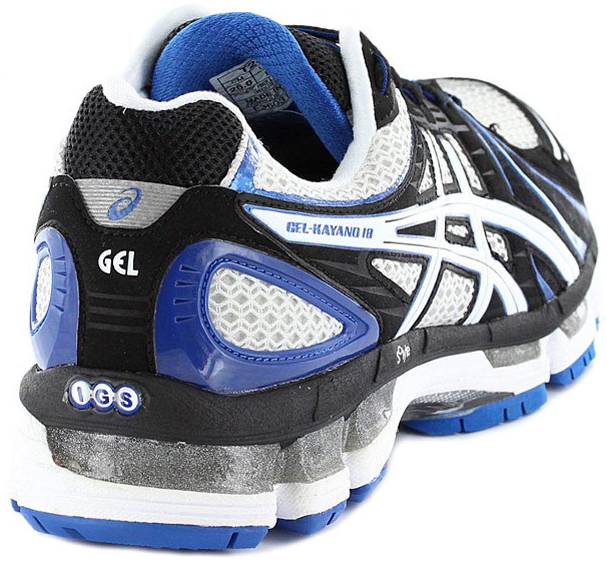 Asics Gel-Kayano 18 Кроссовки для бега T2C4N 9301 купите в интернет ... 990edd4de73