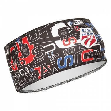 Björn daehli 80210 Headband Polyknit USST Active Logo US Ski Team Headband tes