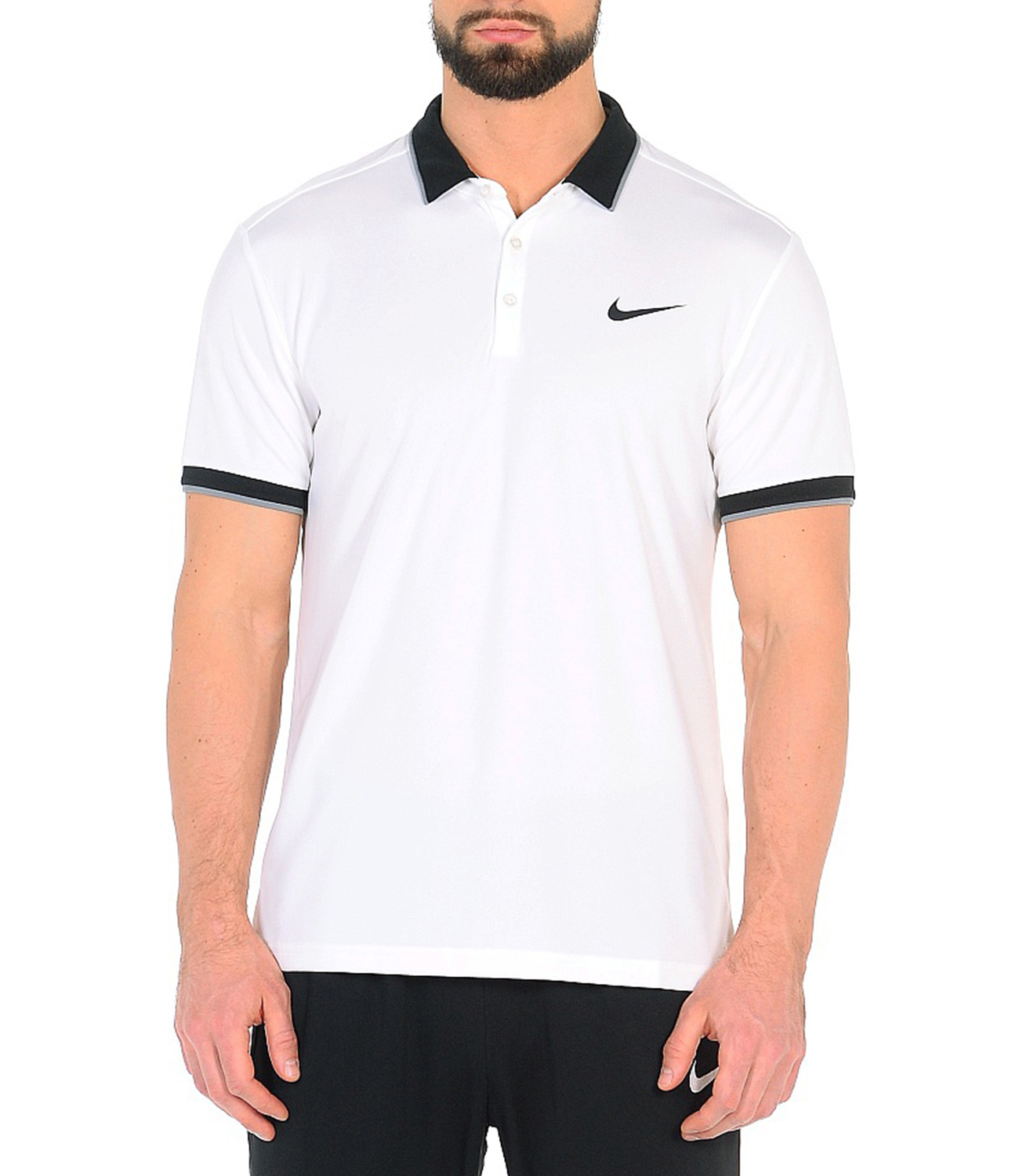 d7e6785355db7 Nike Court Dry Tennis Polo Форма для тенниса 830849 100 купите в ...
