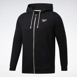 Hudi training essentials fleece zip up chernyj fu3241 13 standard