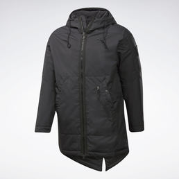 Parka outerwear urban fleece chernyj ft0684 13 standard