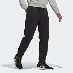 Aeroready essentials stanford tapered cuff embroidered small logo pants black gk8893 25 model