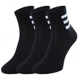 Skarpetki adidas 3 4 czarne ge6164 3 pack r 40 42