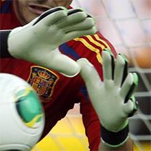 Perchatki futbolnie