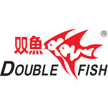 Double fish logo
